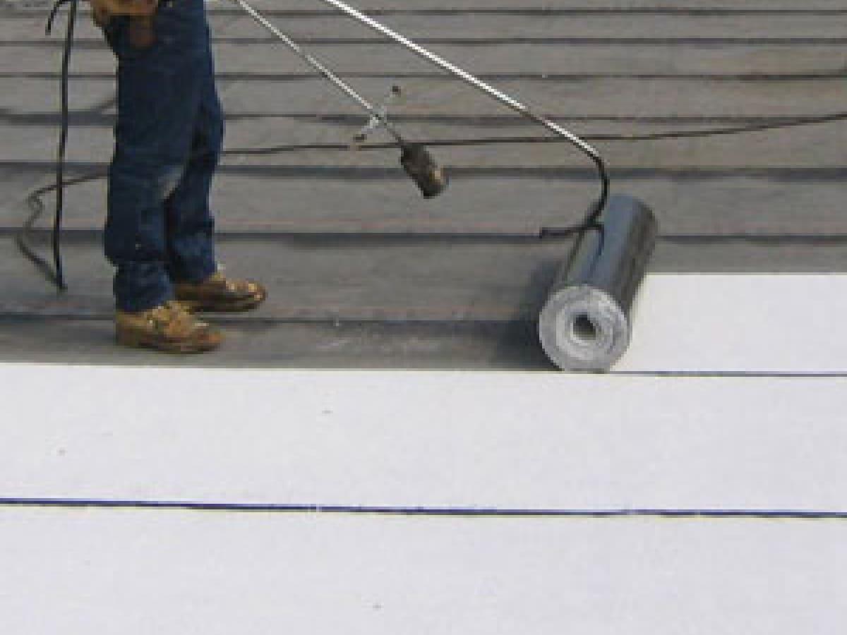 Kelbie Roofing Baltimore Md Installs Asphalt Flat Roofs