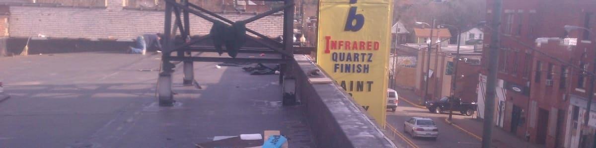 Award Roofing Pittsburgh Pa Installs Asphalt Flat Roofs