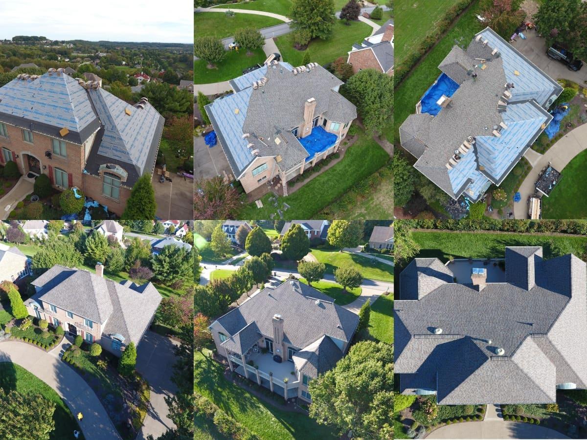 Buccos Roofing Upper St Clair Pa Installs Asphalt Roofs