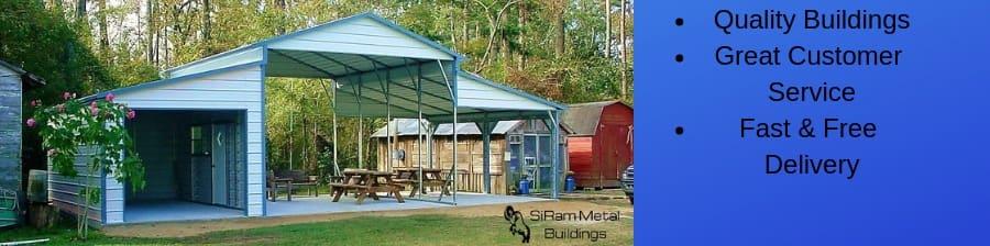 Siram Metal Buildings Arkansas S 1 Metal Carports Garages Barns Installer Clarksville Ar Installs Roofs