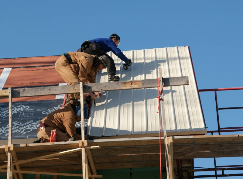Tin Roof Installation : Metal roofing prices for materials and installation