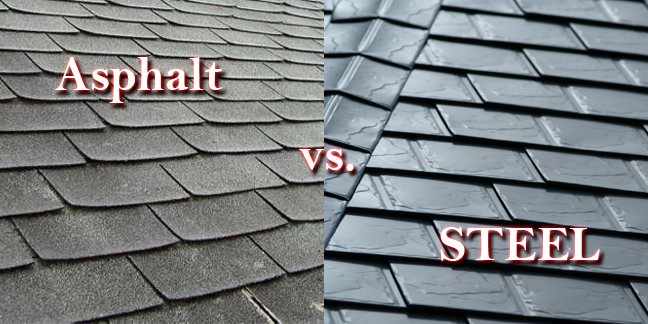 metal vs asphalt roofing