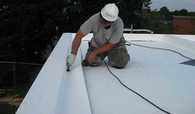 Flat Roof Replacement Cost Calculator Roofcalc Org
