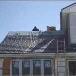 Metal Shingles Roof Installation