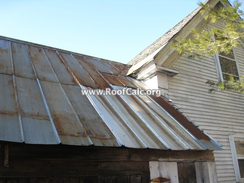 Old Tin Roof Roofcalc Org