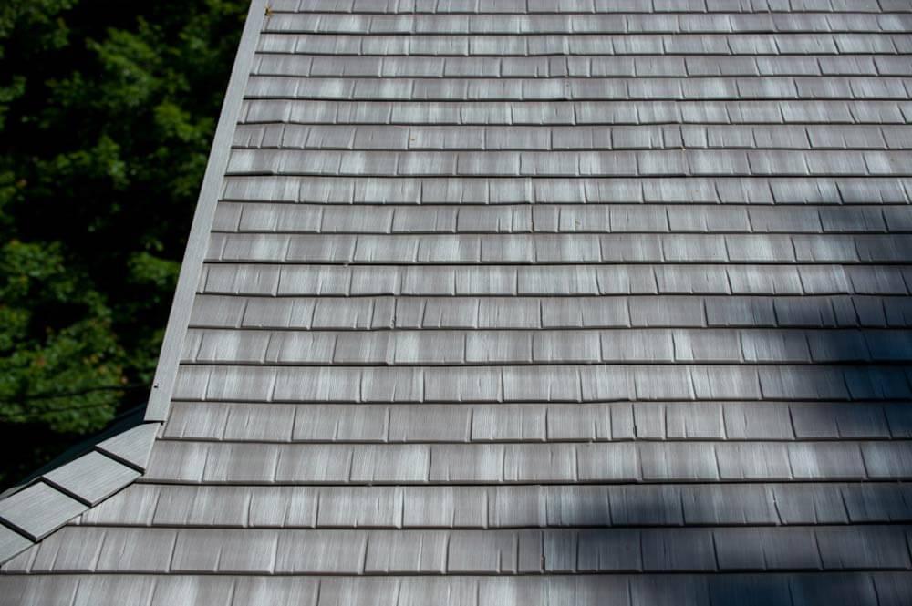 Matterhorn Metal Shake Roof Weathered Wood Roofcalc Org