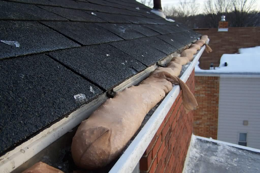 Gutters Ice Melt Sock Roofcalc Org