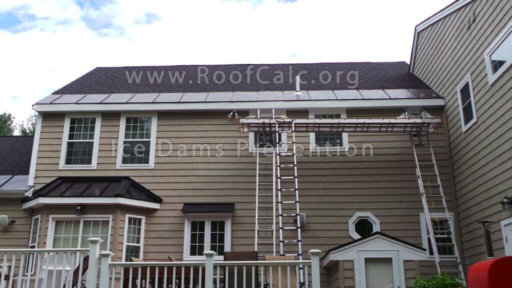 Ice Belt Metal Roofing Panels - Prevent Ice Dams