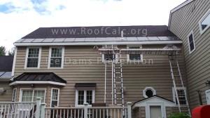 Roof Ice Belt Installation