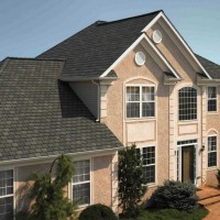 Image of Architectural Asphalt Shingles on a Modern Home