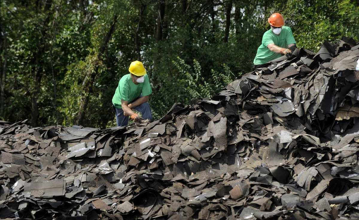 Environmental Impact of Asphalt Shingles