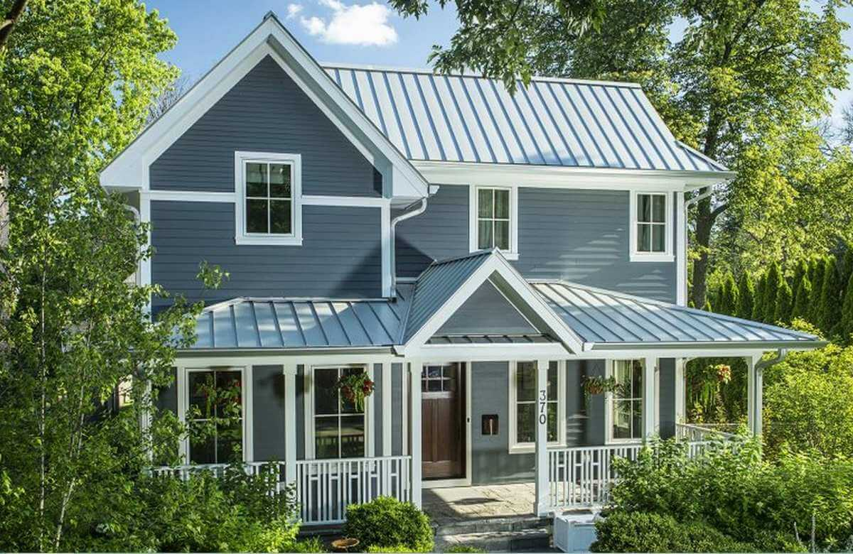 Facts and misconceptions about metal roofing for Metal roof home plans