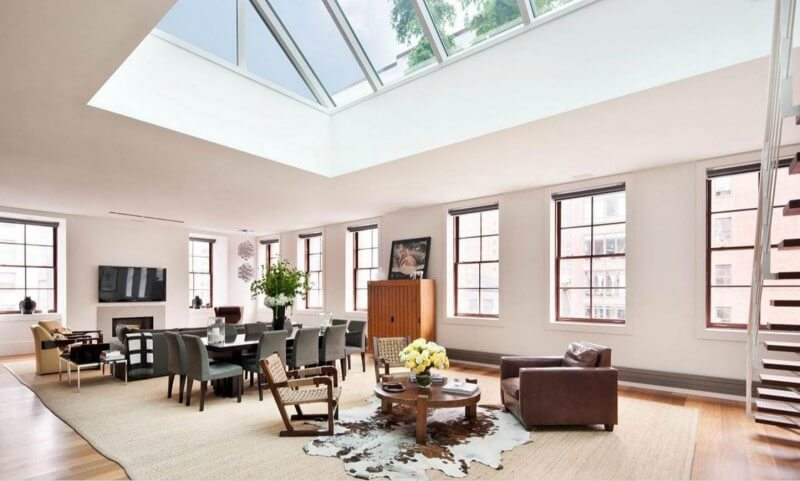 Large skylights