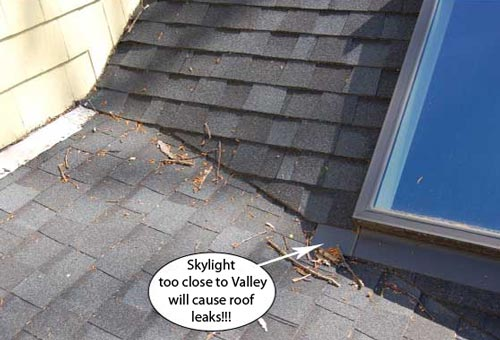 7 Tips To Avoid Skylight Roof Leaks