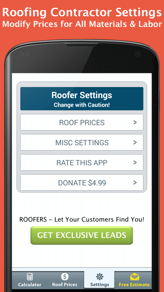Roof Calculator Free Roof Settings Roofcalc Org