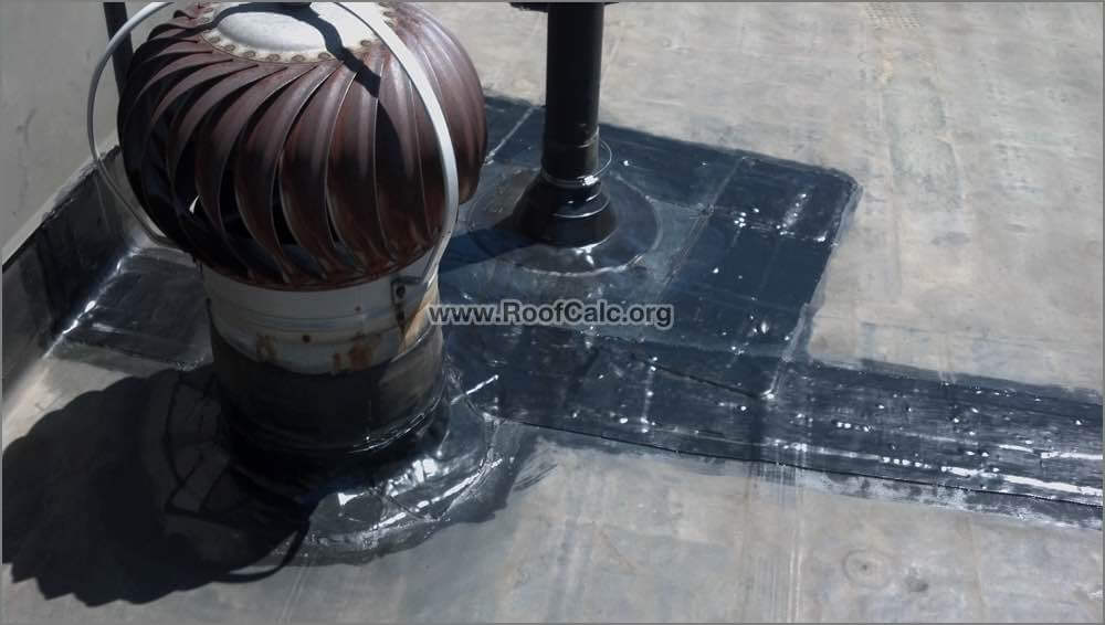 Commercial Rubber Roof Reapir