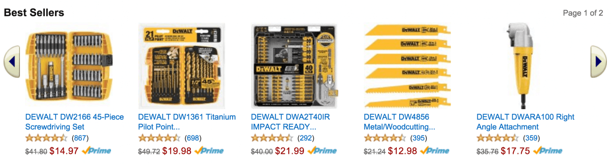 DeWalt $25 Off $100 Holiday Promotion - Amazon