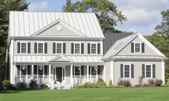 White Standing Seam Metal Roof Roofcalc Org