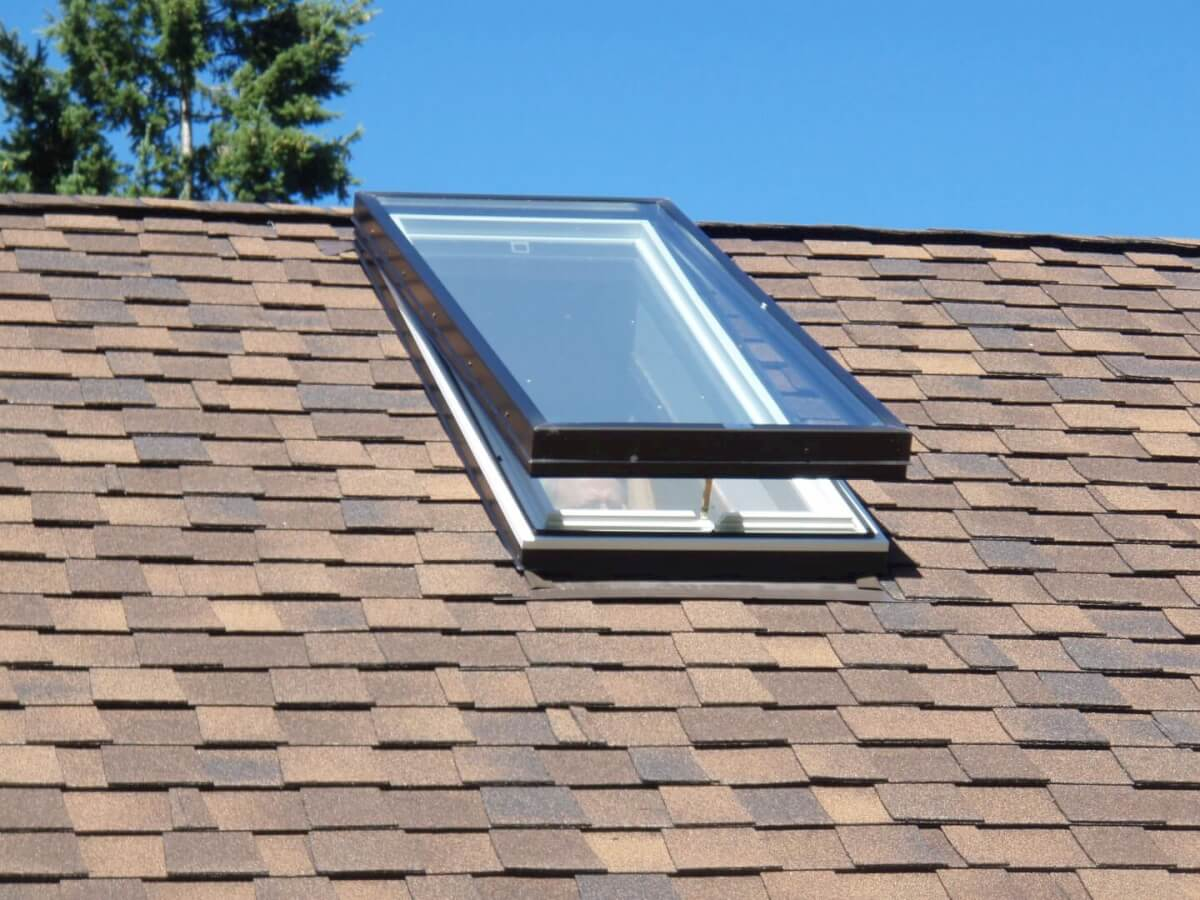 Asphalt Shingle Roof With Skylight Roofcalc Org