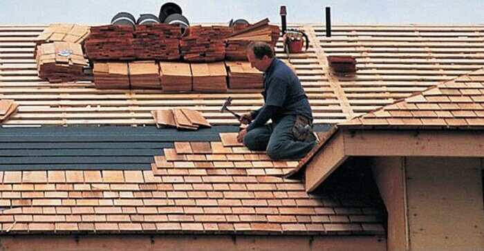 Shake Shingle Roof Installation