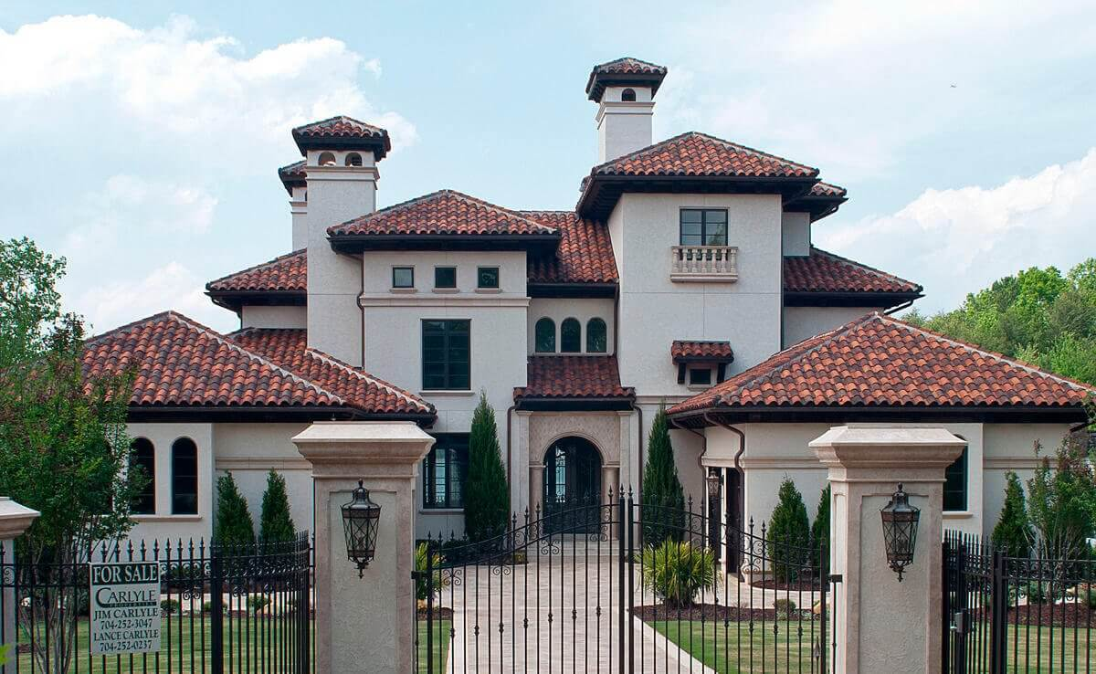 Clay tile roof cost estimate clay roofing prices for Mediterranean roof styles