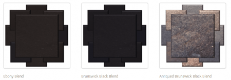 Glazed tile - Black Hue