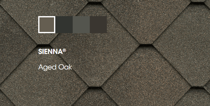 Colors for Sienna Shingles