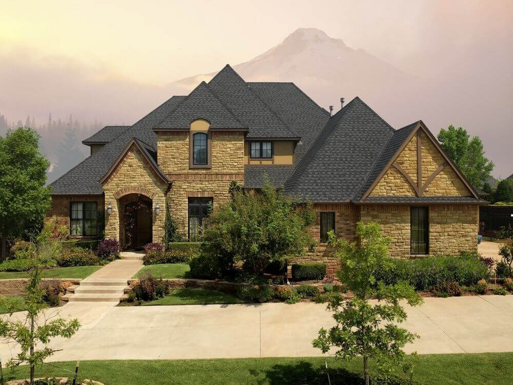 Cost of roof shingles by GAF