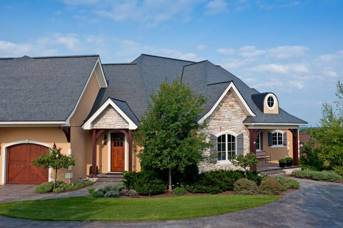 5 reasons to install a faux slate roof for Davinci shingles cost