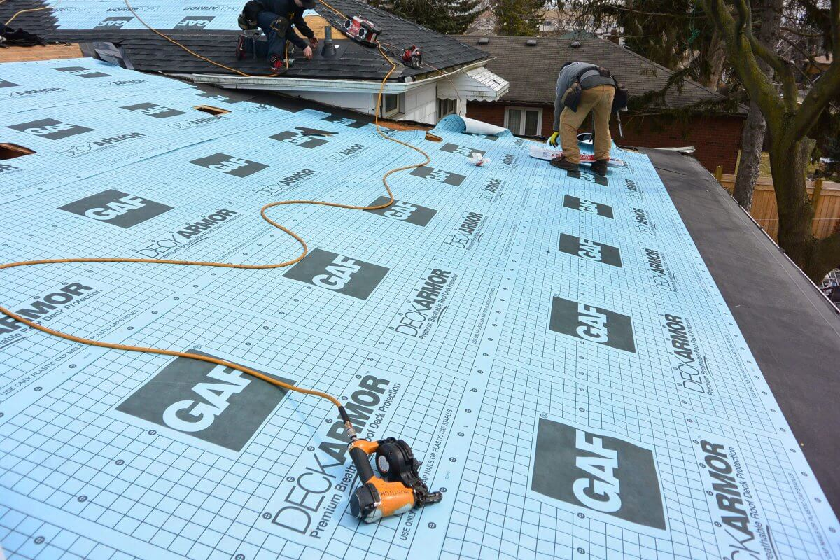 Roof Underlayment Installation : Roofing shingles prices material and installation