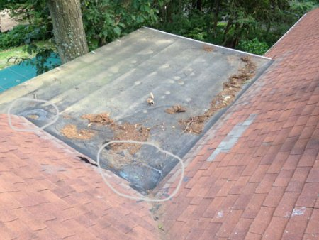 failing rubber roofs - Rubberised Roof Membrane