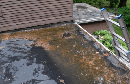 Flat Roof Leaking