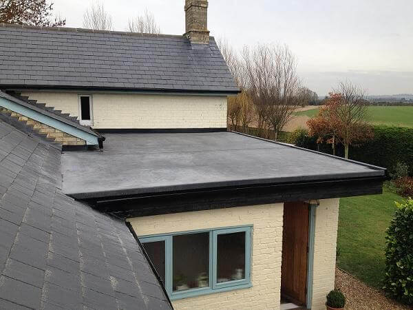 repair or replace a flat roof - Rubberised Roof Membrane