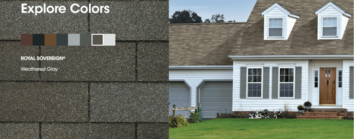 Gaf Royal Sovereign Shingle Colors Roofcalc Org