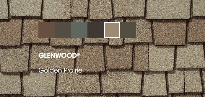 Glenwood roof Colors