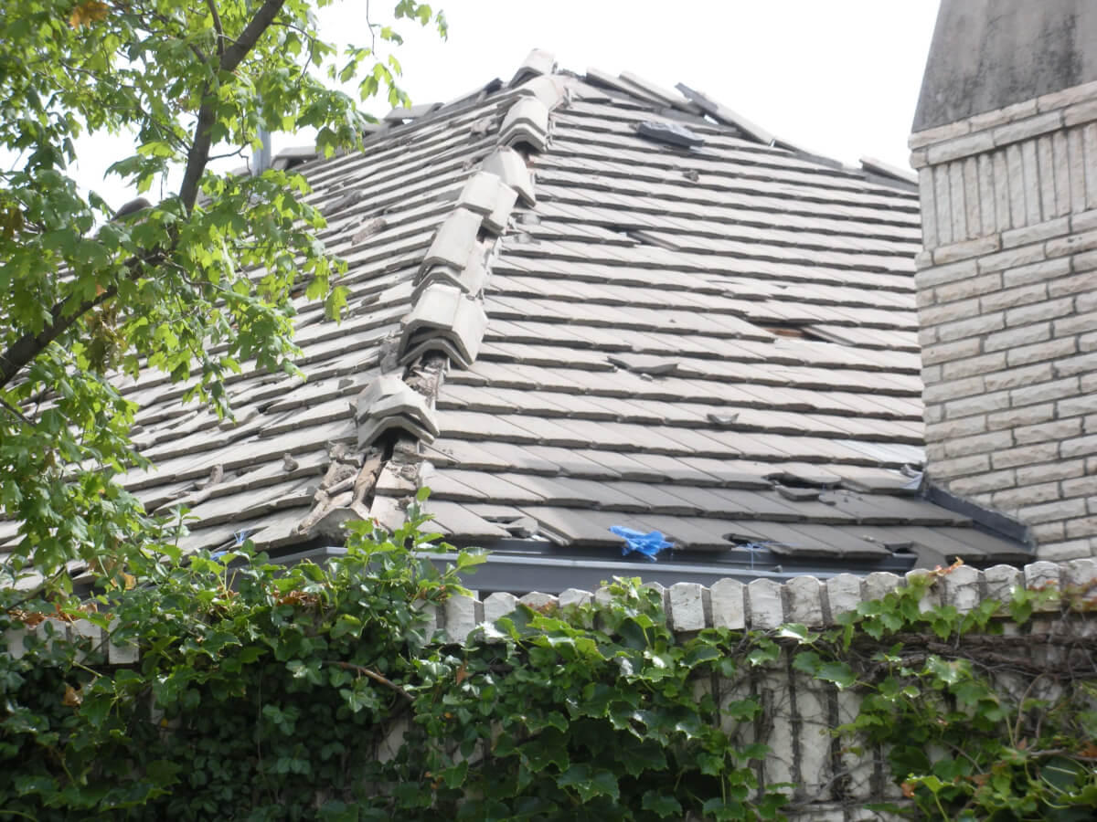 Hail Damage Roof How To File An Insurance Claim