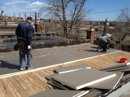 5 roof insulation mistakes to avoid when installing flat for Fiberboard roof sheathing