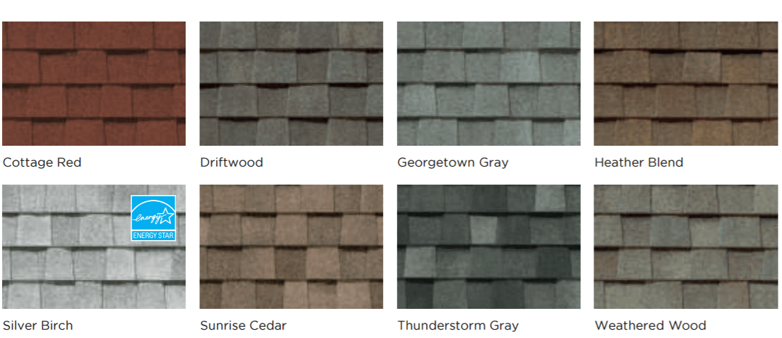 Timberline Vs Landmark Shingles Compare Colors And Styles