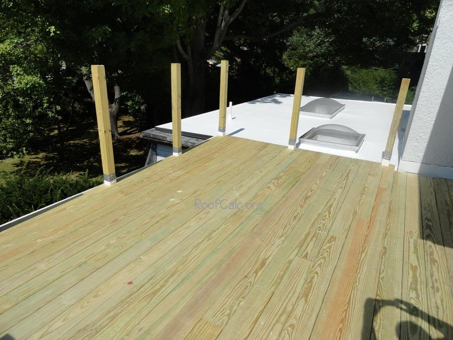 2019 Roof Deck Cost Estimate Average Deck Prices Per