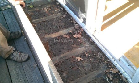 Leaking Rubber Roof Balcony Deck Roofcalc Org
