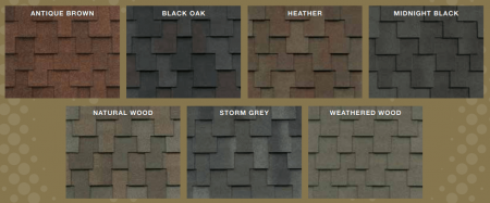 Colors for Windsor Shingles