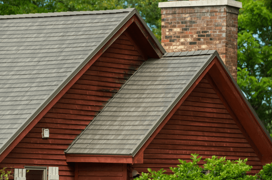 Metal roof colors how to pick the right color for your house for Roof right