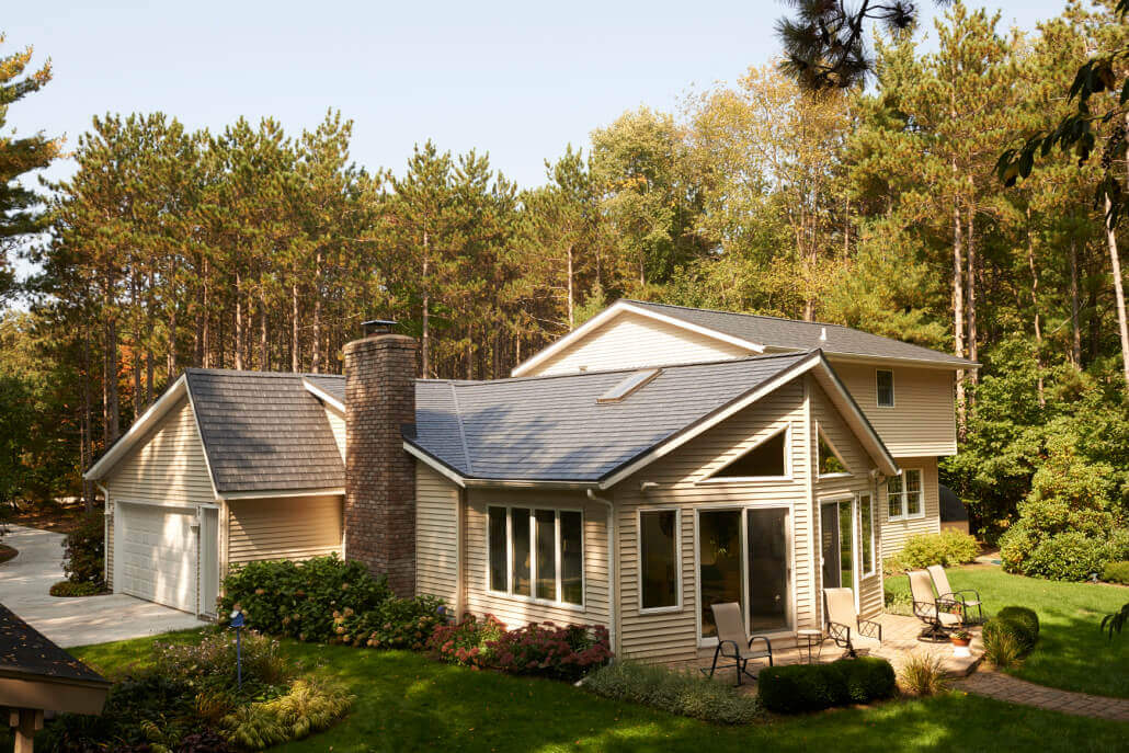 Matterhorn Metal Roof - Castle Gray Slate
