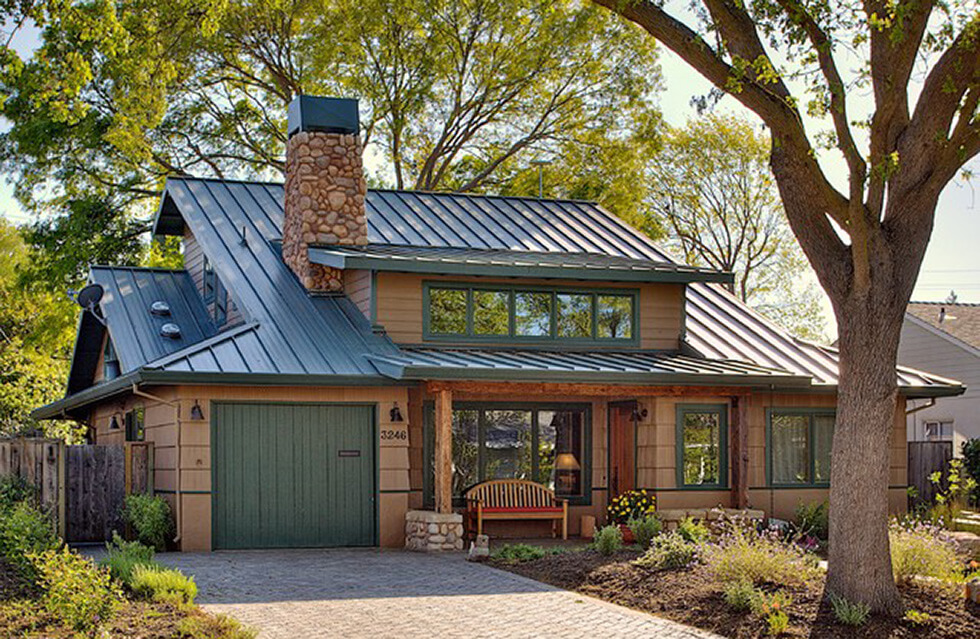 Metal roof basics 6 myths about metal you should know for Roof right