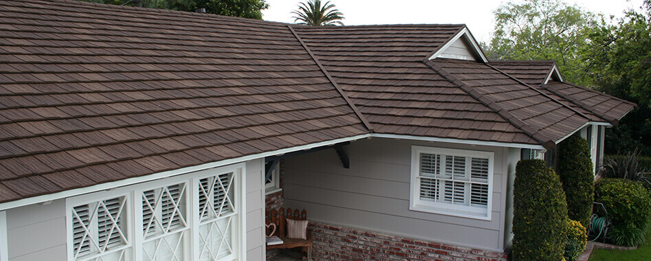 Metal Shake Shingle Roof