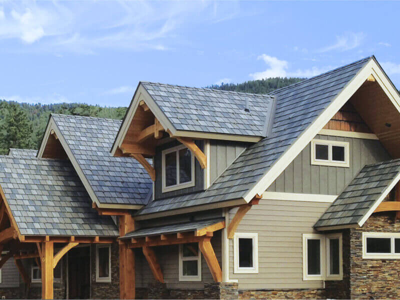 Steel Roof Shingles by EDCO