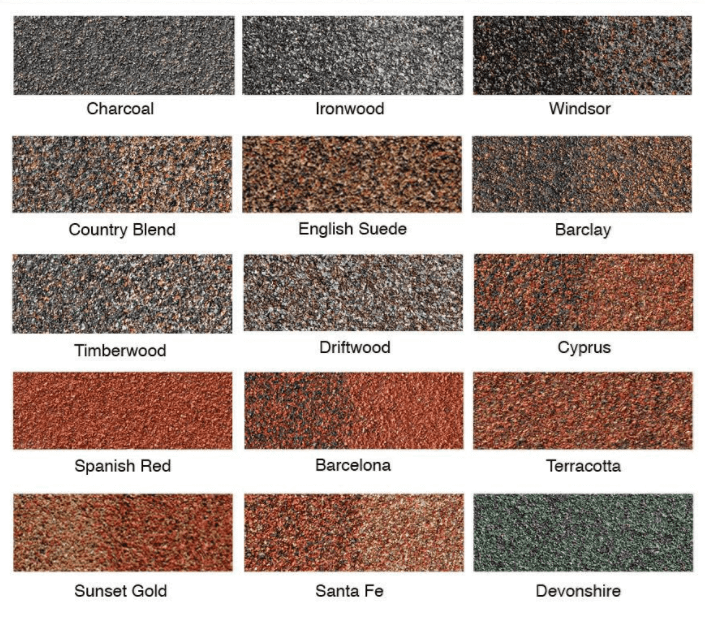 Metal Tile Roof Colors by Gerard Roofing