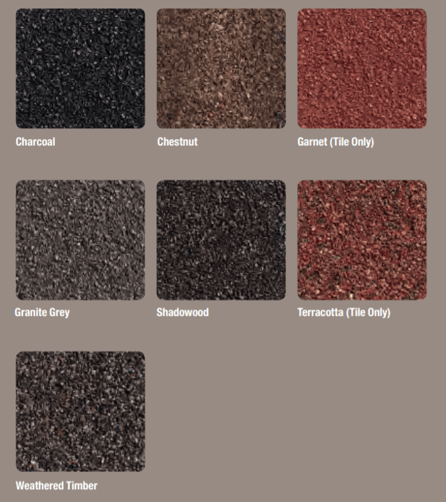 Metal Tile and Shake Color Blends By Decra