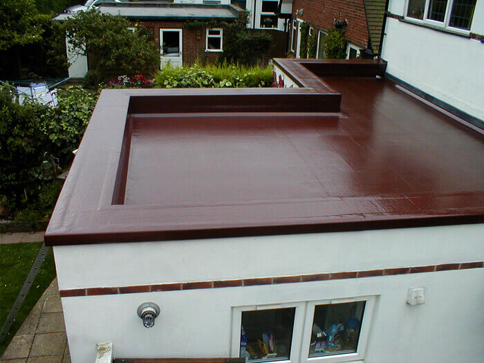 Paint on Flat Roof