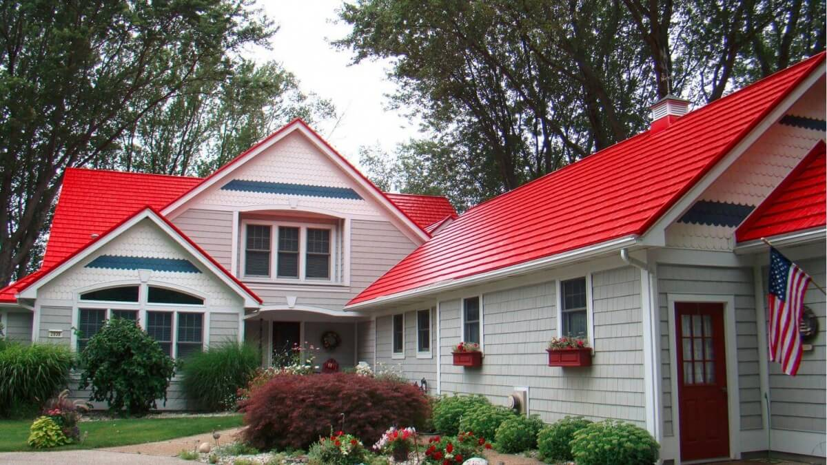 Metal shingles costs installation design benefits for American house styles roof